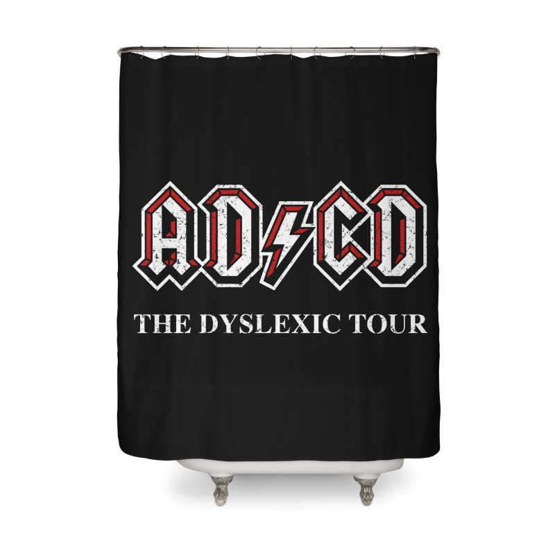 ADCD Home Shower Curtain by ikado's Artist Shop