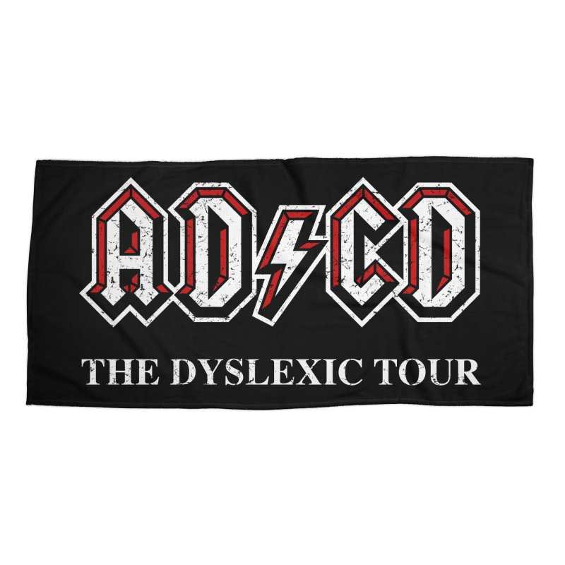ADCD Accessories Beach Towel by ikado's Artist Shop