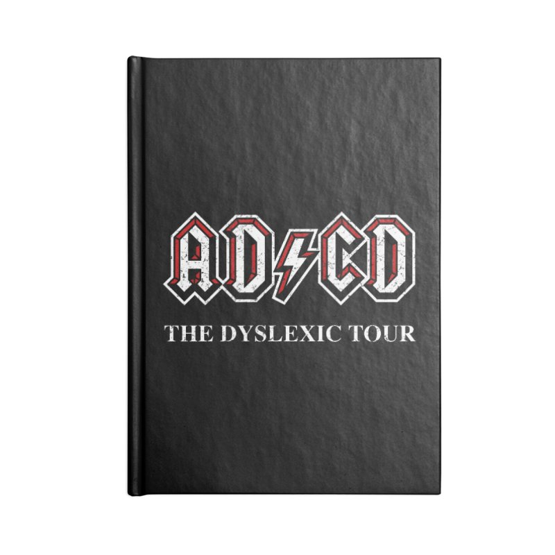 ADCD Accessories Lined Journal Notebook by ikado's Artist Shop
