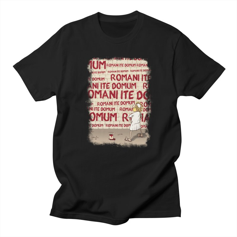 ROMANI ITE DOMUM Men's Regular T-Shirt by ikado's Artist Shop