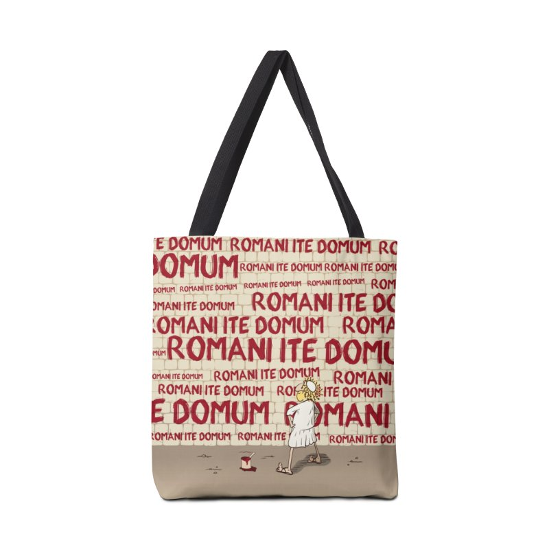 ROMANI ITE DOMUM Accessories Bag by ikado's Artist Shop