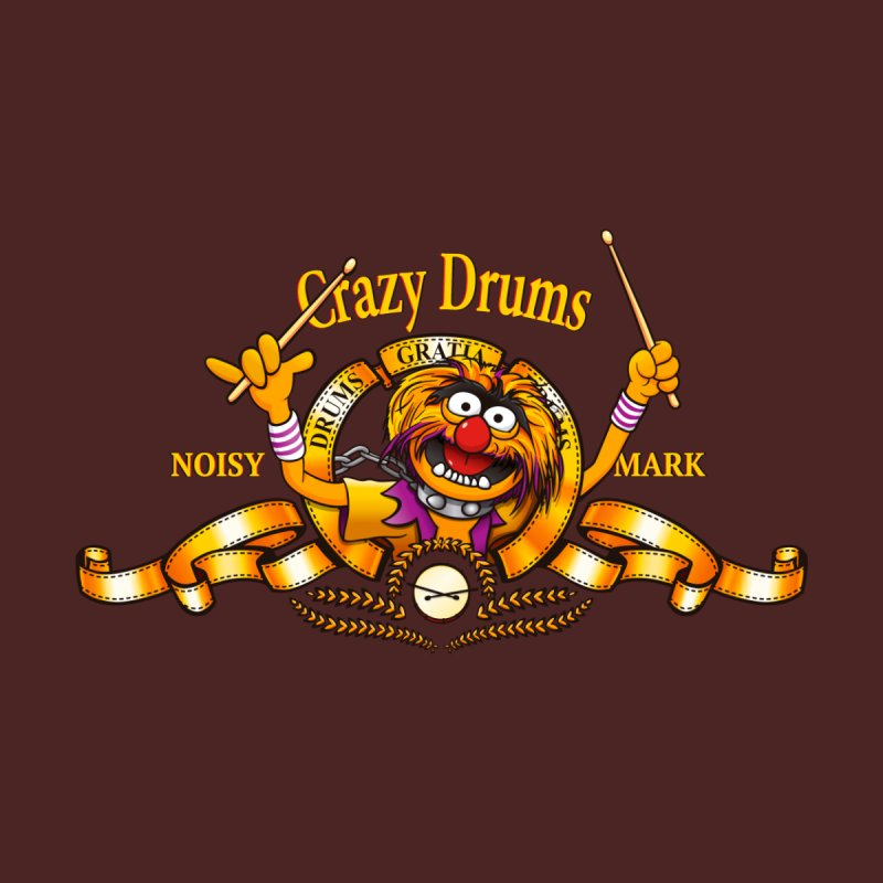 Crazy Drums None  by ikado's Artist Shop