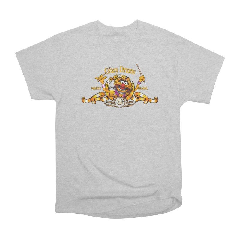 Crazy Drums Women's Classic Unisex T-Shirt by ikado's Artist Shop