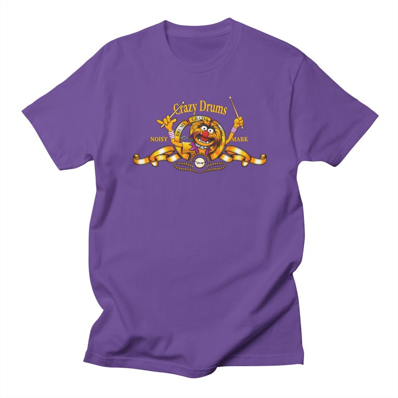 Crazy Drums Women's Unisex T-Shirt by ikado's Artist Shop