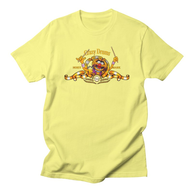 Crazy Drums Women's Unisex T-Shirt by ikado's Artist Shop