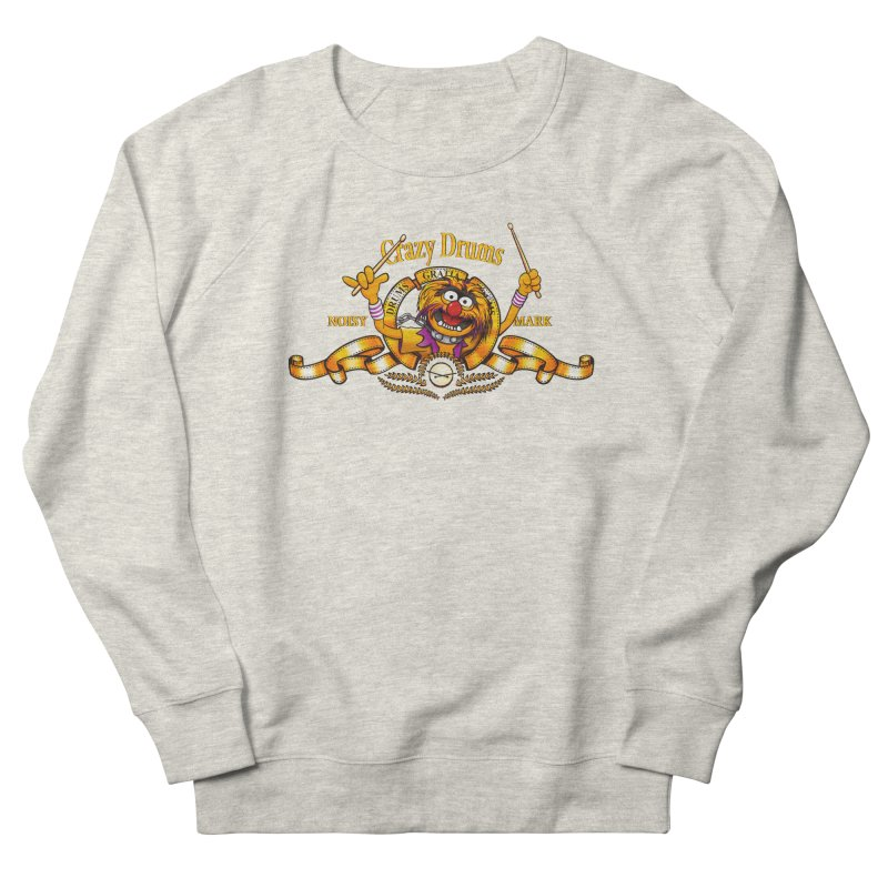 Crazy Drums Women's Sweatshirt by ikado's Artist Shop