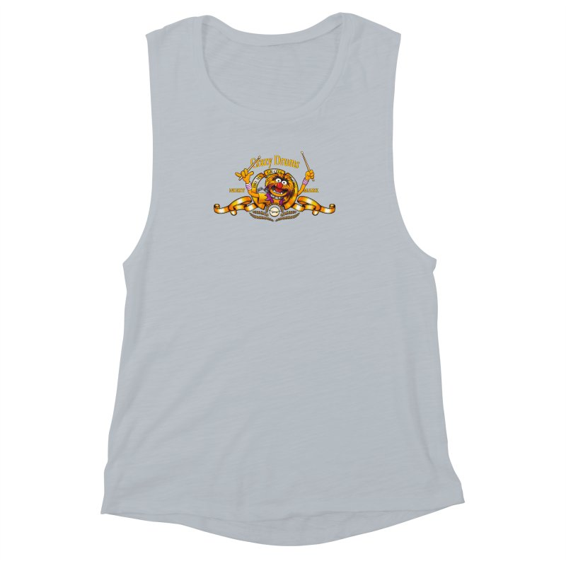 Crazy Drums Women's Muscle Tank by ikado's Artist Shop