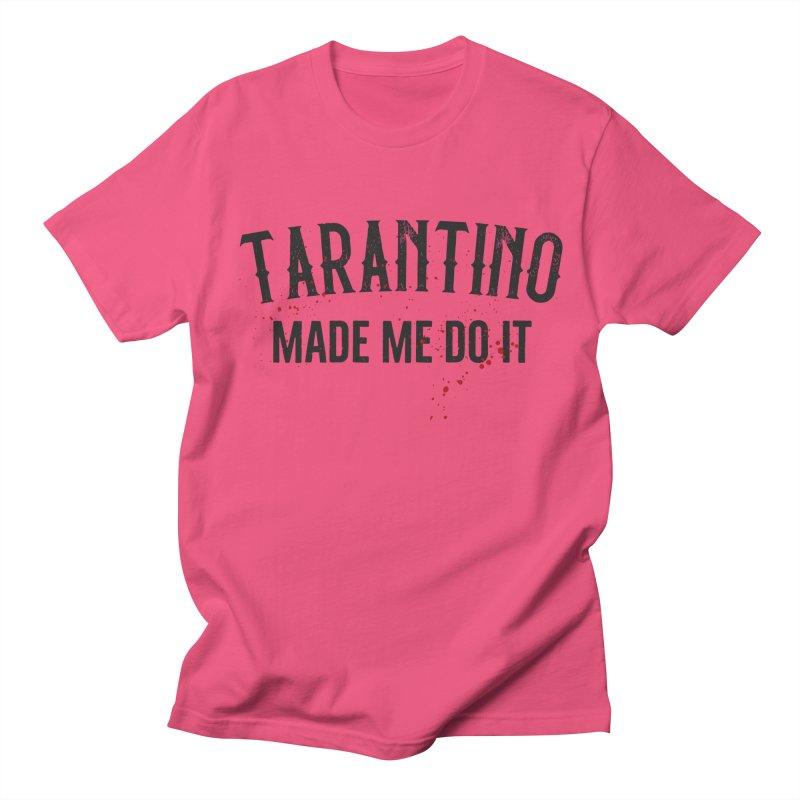 Tarantino made me do it Men's Regular T-Shirt by ikado's Artist Shop