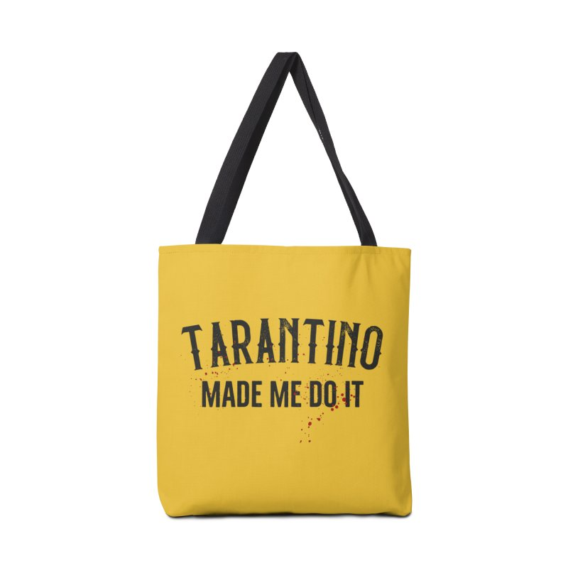 Tarantino made me do it Accessories Bag by ikado's Artist Shop
