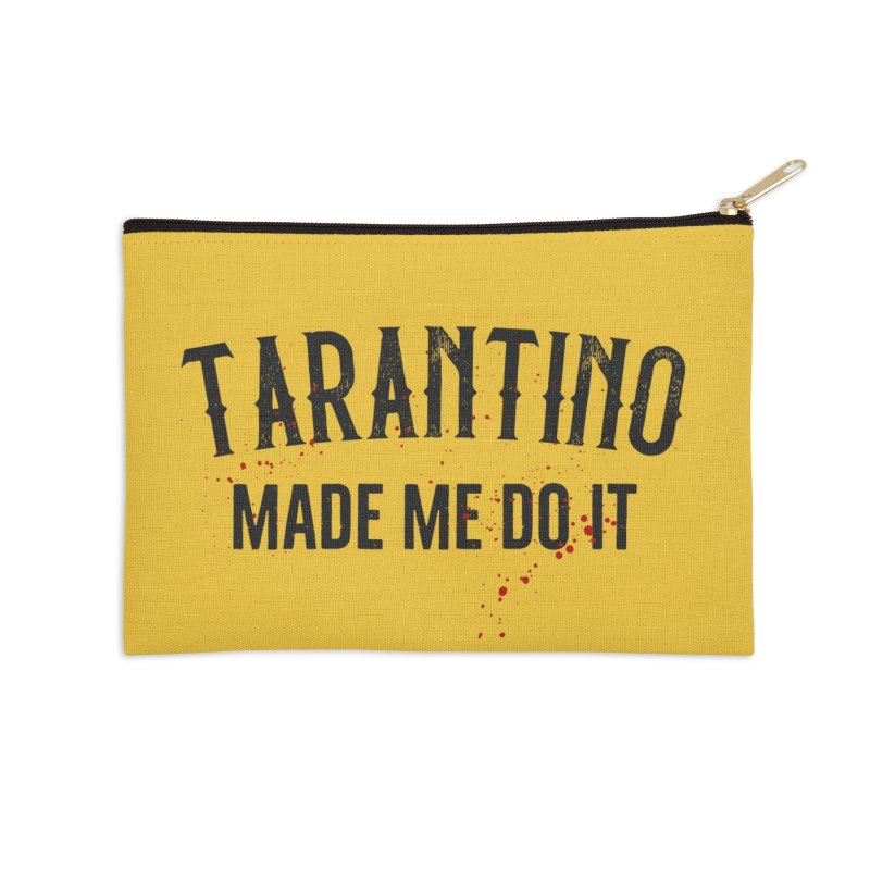 Tarantino made me do it Accessories Zip Pouch by ikado's Artist Shop