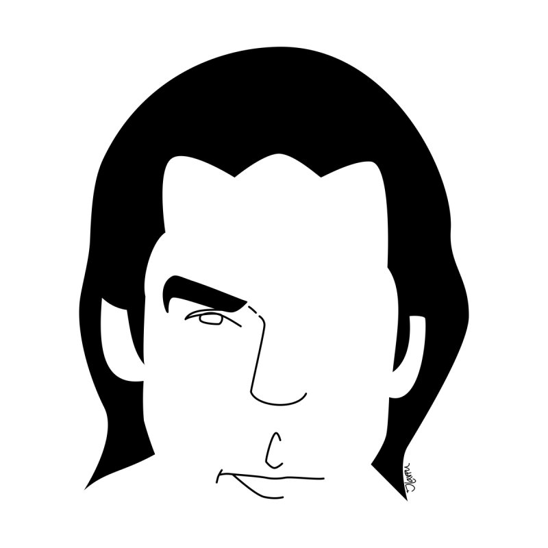 Nick Cave by Ilaviu's Artist Shop