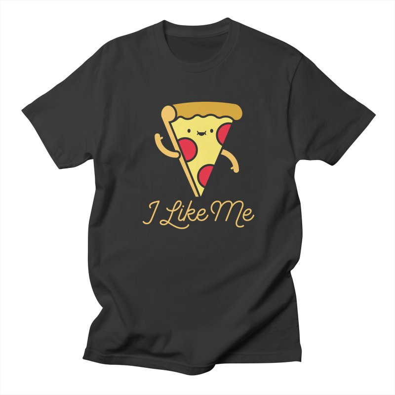 Pepperoni & Cheese Men's T-Shirt by I Like Me