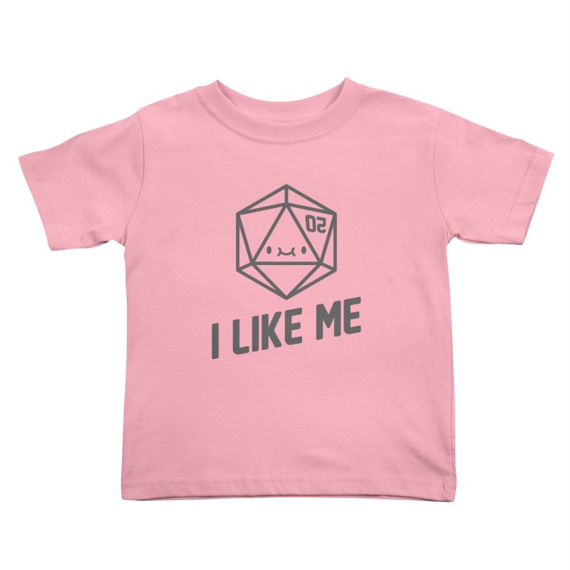 20 Sides Kids Toddler T-Shirt by I Like Me