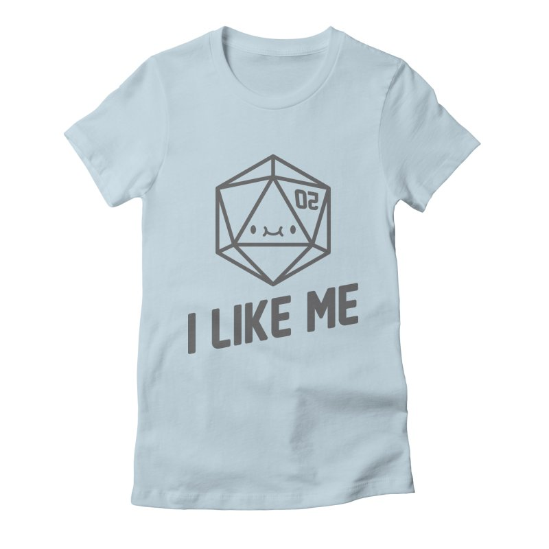 20 Sides Women's Fitted T-Shirt by I Like Me
