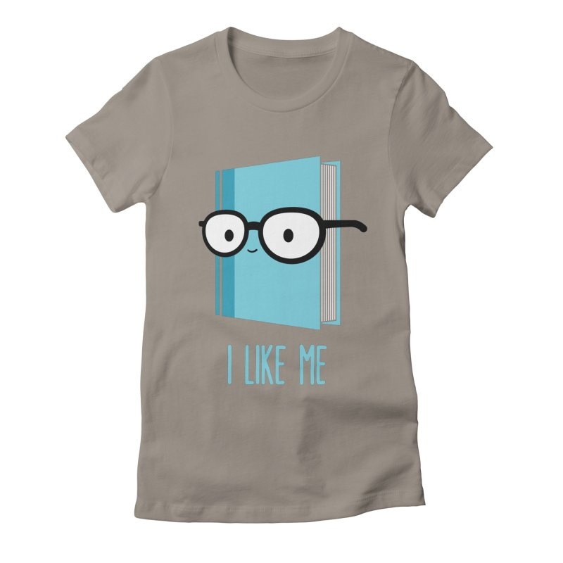 Book Worms Women's Fitted T-Shirt by I Like Me