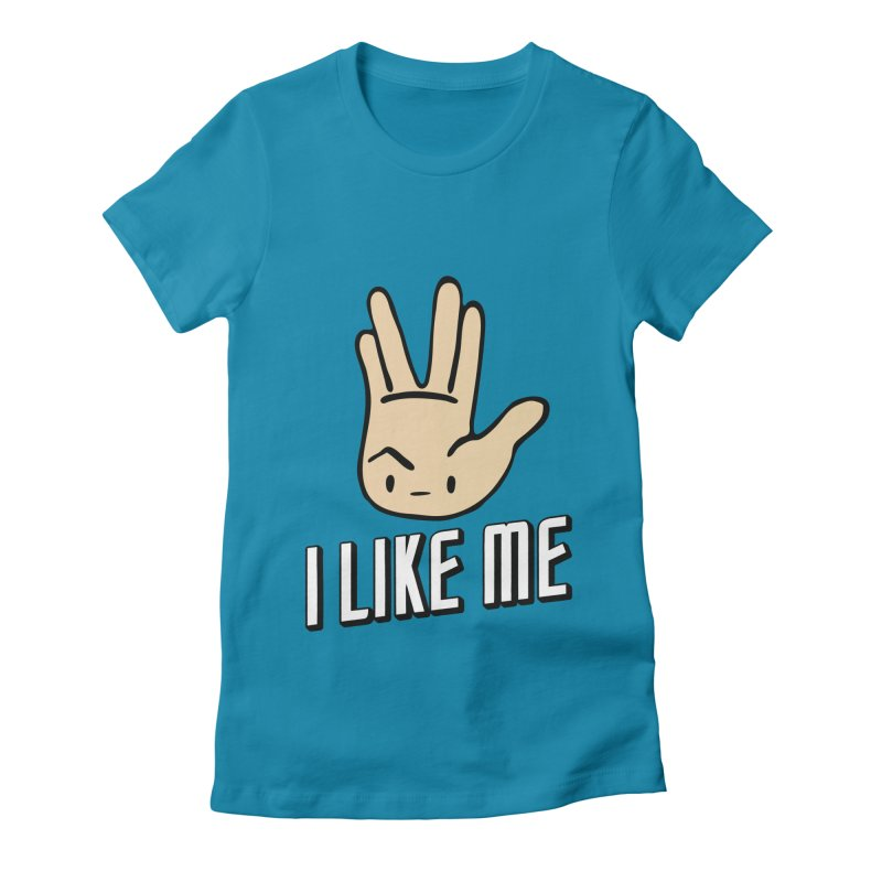 Treks Women's Fitted T-Shirt by I Like Me