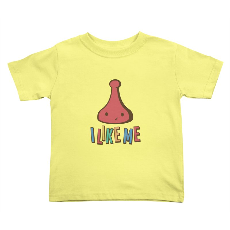 Board Kids Toddler T-Shirt by I Like Me
