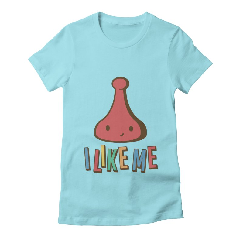 Board Women's Fitted T-Shirt by I Like Me