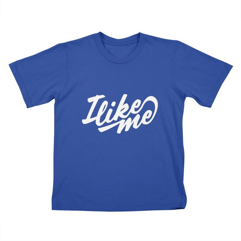 I Like Me Scripty Kids T-Shirt by I Like Me