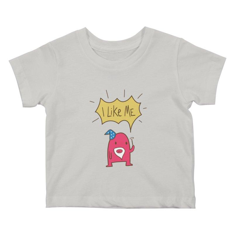 I Like Magic Kids Baby T-Shirt by I Like Me