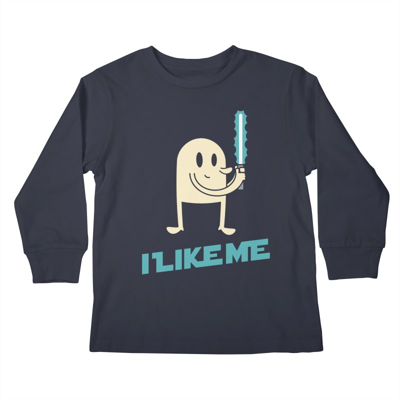 I Like the Light Kids Longsleeve T-Shirt by I Like Me
