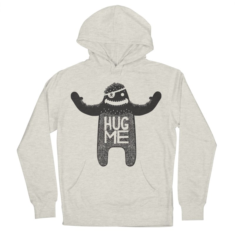 Hug Me Sasquatch Women's Pullover Hoody by The Illustration Booth Shop