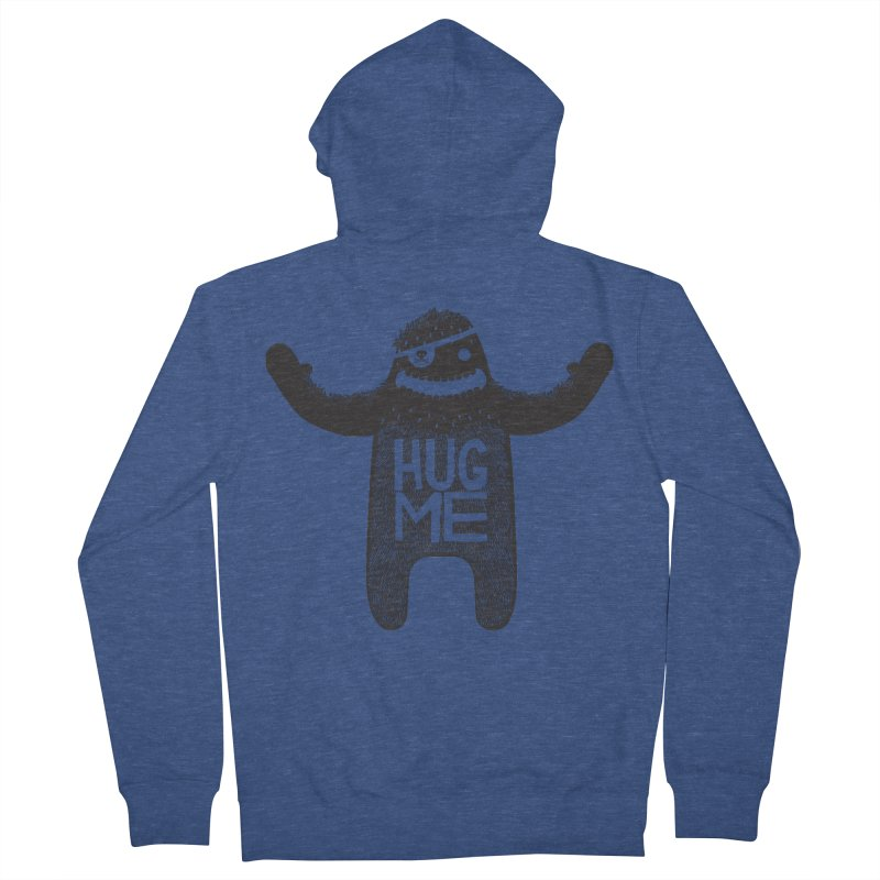 Hug Me Sasquatch Men's Zip-Up Hoody by The Illustration Booth Shop