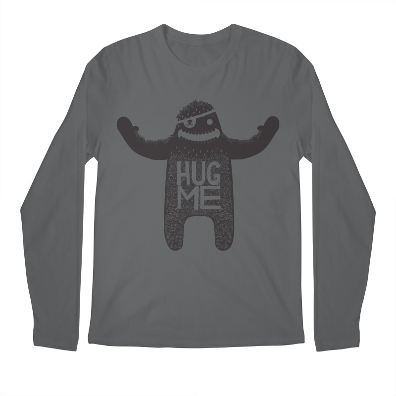Hug Me Sasquatch Men's Longsleeve T-Shirt by The Illustration Booth Shop