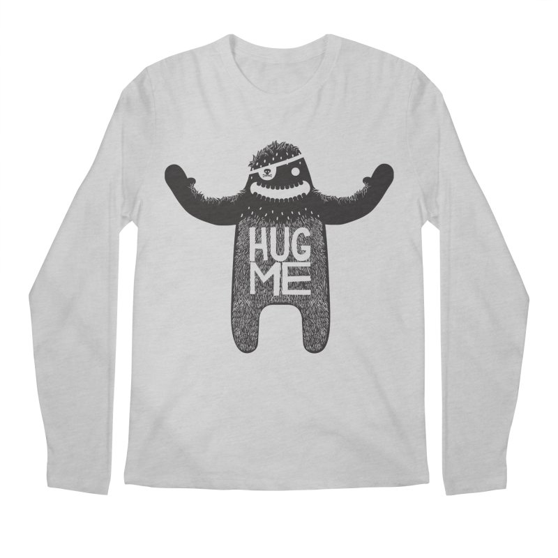 Hug Me Sasquatch Men's Longsleeve T-Shirt by The Illustration Booth Shop