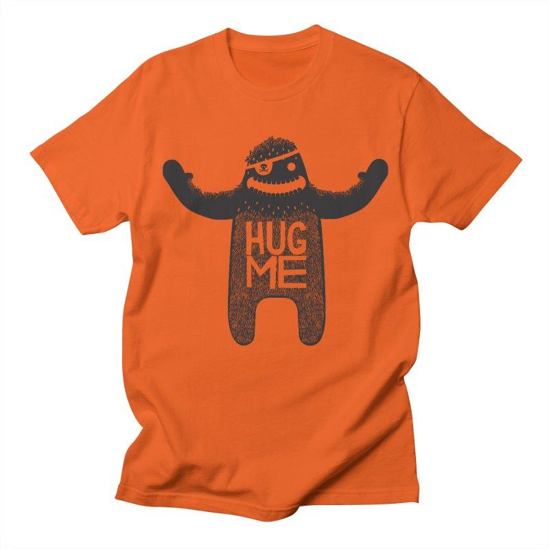 Hug Me Sasquatch Men's T-shirt by The Illustration Booth Shop