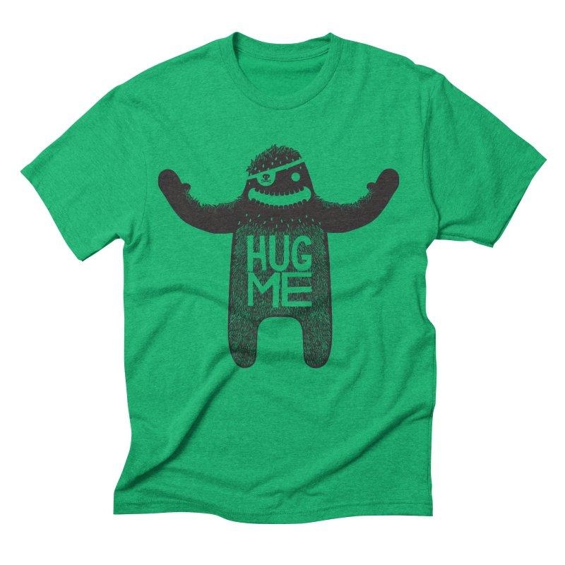 Hug Me Sasquatch Men's Triblend T-shirt by The Illustration Booth Shop