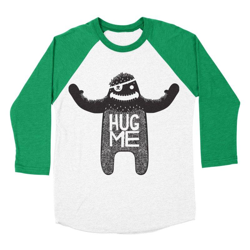 Hug Me Sasquatch Women's Baseball Triblend T-Shirt by The Illustration Booth Shop