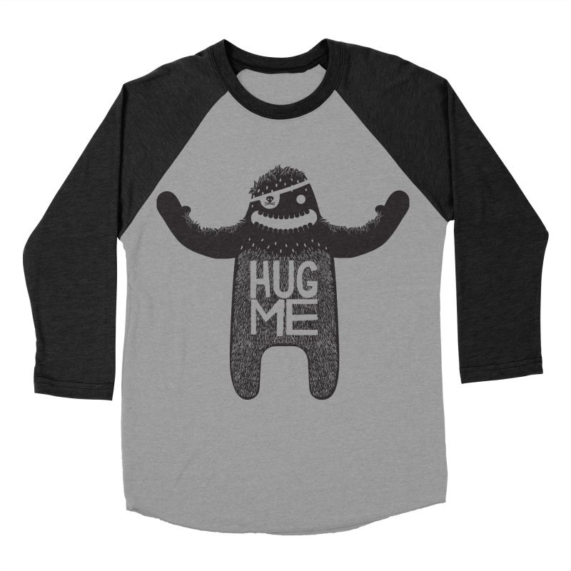Hug Me Sasquatch Women's Baseball Triblend T-Shirt by The Illustration Booth Shop