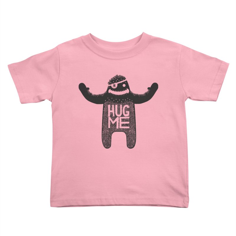 Hug Me Sasquatch Kids Toddler T-Shirt by The Illustration Booth Shop