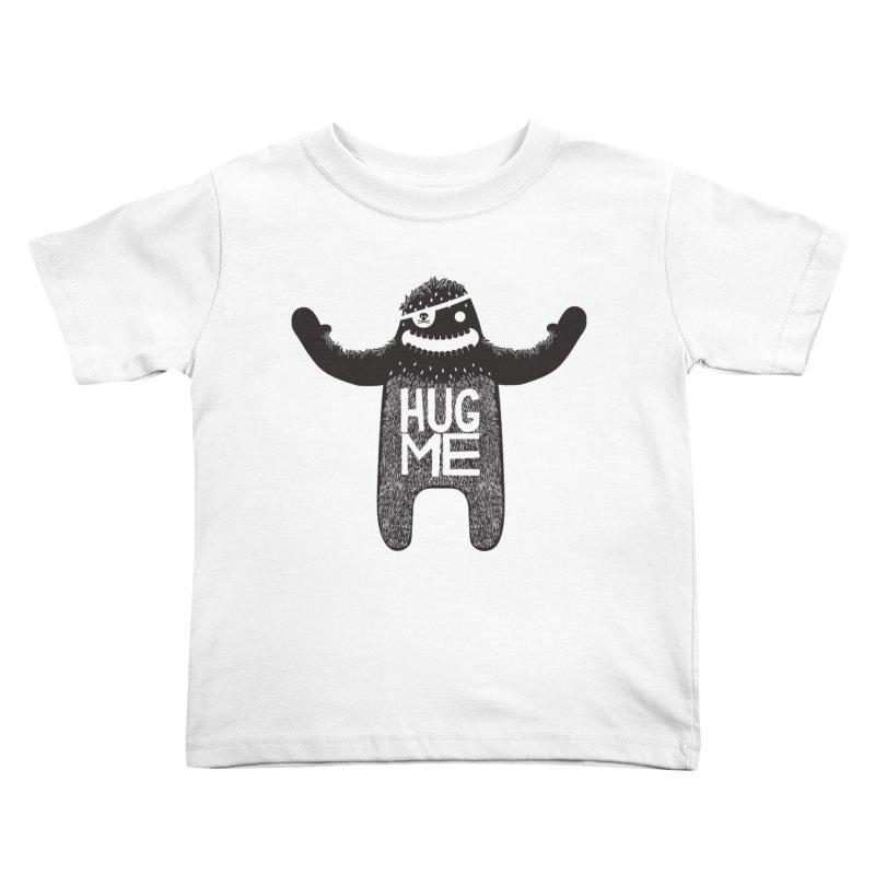 Hug Me Sasquatch Kids Toddler T-Shirt by The Illustration Booth Shop