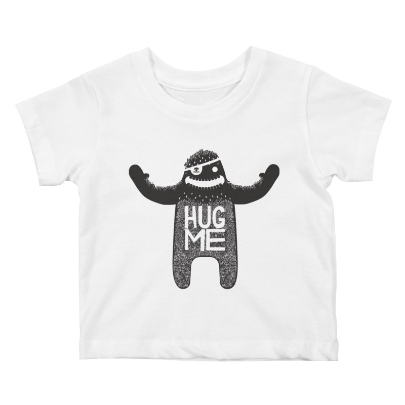 Hug Me Sasquatch Kids Baby T-Shirt by The Illustration Booth Shop