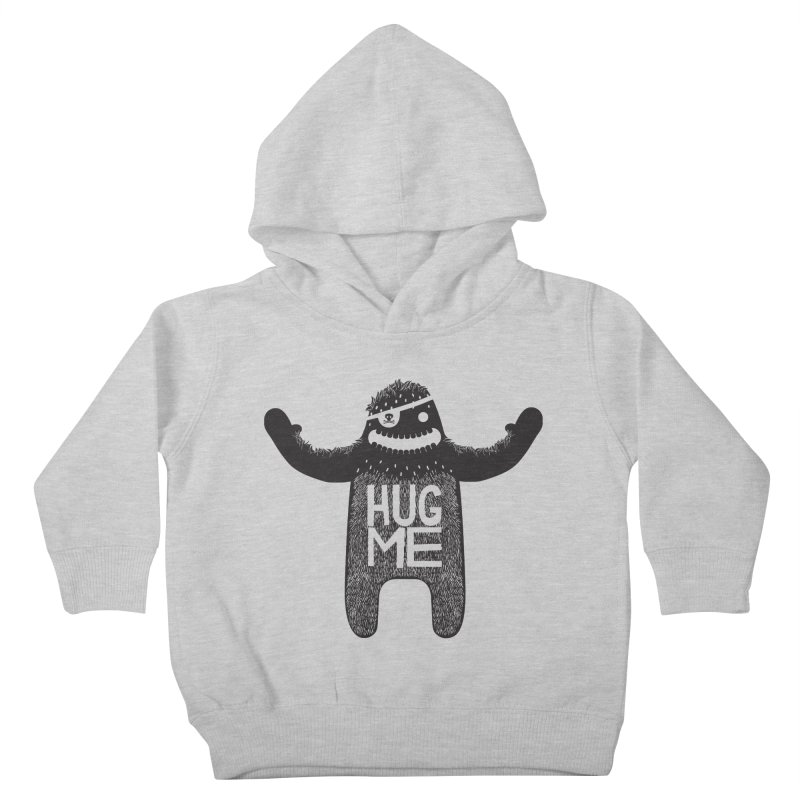 Hug Me Sasquatch Kids Toddler Pullover Hoody by The Illustration Booth Shop