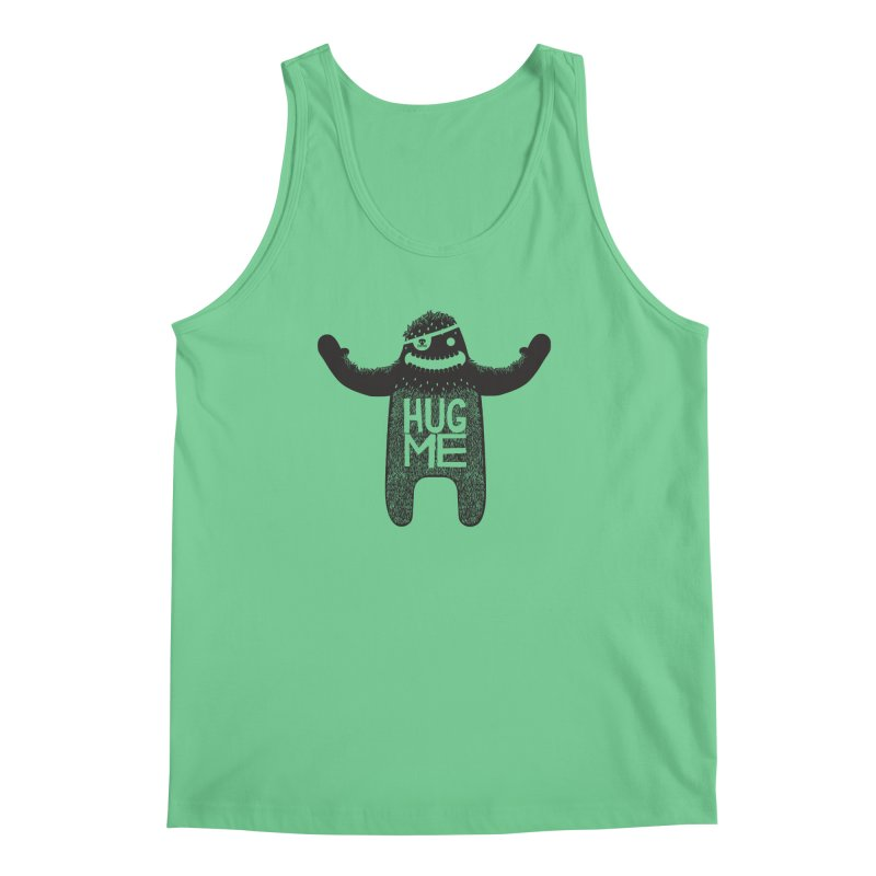 Hug Me Sasquatch Men's Tank by The Illustration Booth Shop