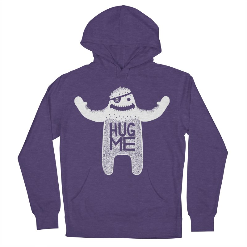 Hug Me Yeti Women's Pullover Hoody by The Illustration Booth Shop