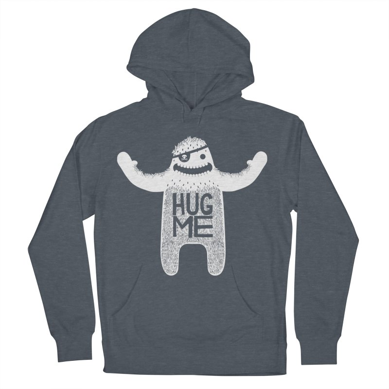 Hug Me Yeti Men's Pullover Hoody by The Illustration Booth Shop