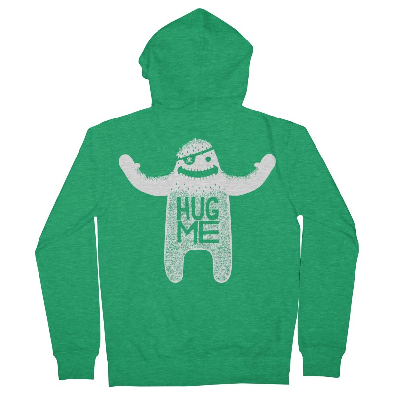 Hug Me Yeti Women's Zip-Up Hoody by The Illustration Booth Shop