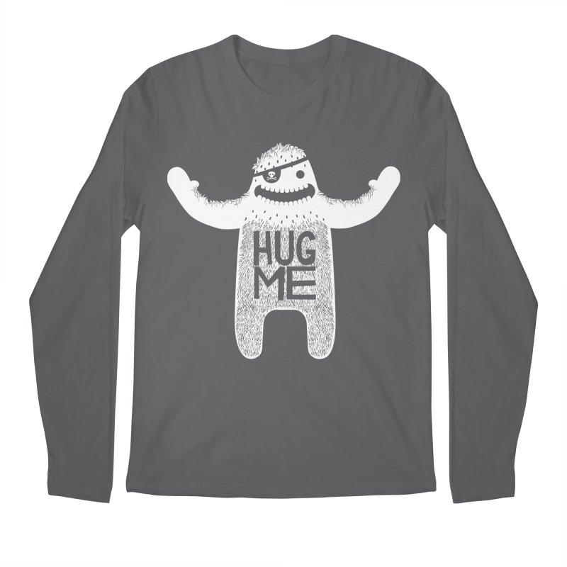 Hug Me Yeti Men's Longsleeve T-Shirt by The Illustration Booth Shop