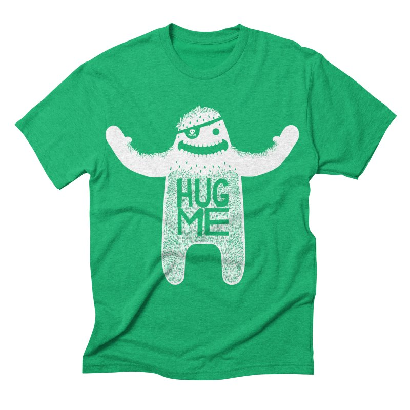 Hug Me Yeti Men's Triblend T-shirt by The Illustration Booth Shop