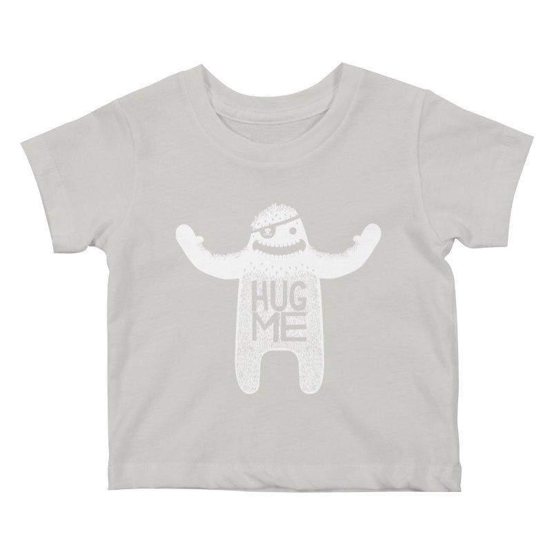 Hug Me Yeti Kids Baby T-Shirt by The Illustration Booth Shop