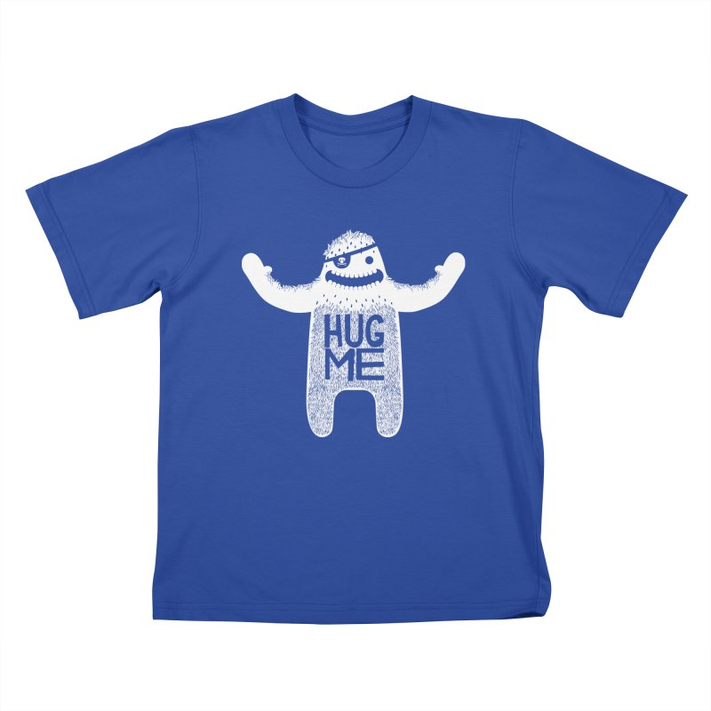 Hug Me Yeti Kids T-Shirt by The Illustration Booth Shop