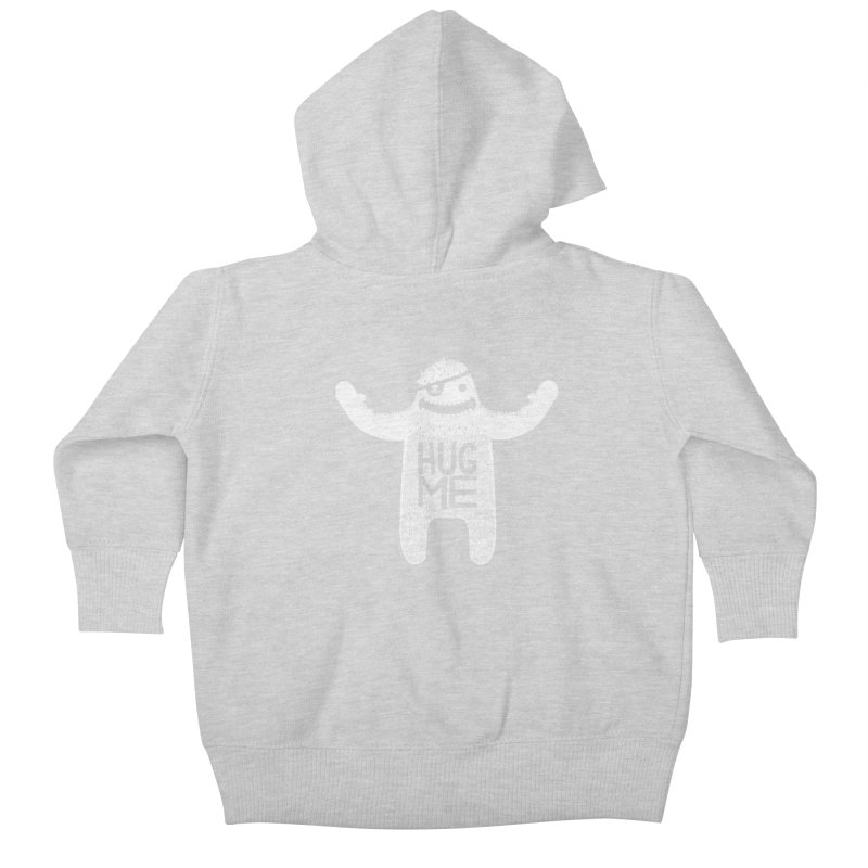 Hug Me Yeti Kids Baby Zip-Up Hoody by The Illustration Booth Shop