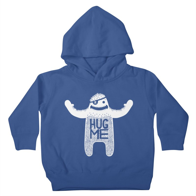 Hug Me Yeti Kids Toddler Pullover Hoody by The Illustration Booth Shop