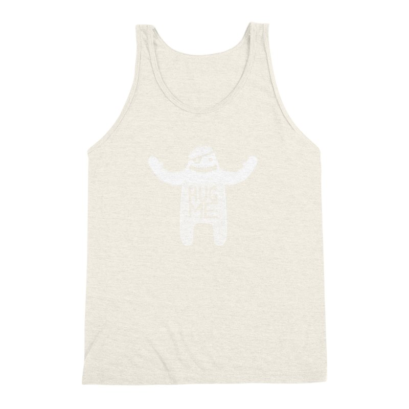 Hug Me Yeti Men's Triblend Tank by The Illustration Booth Shop