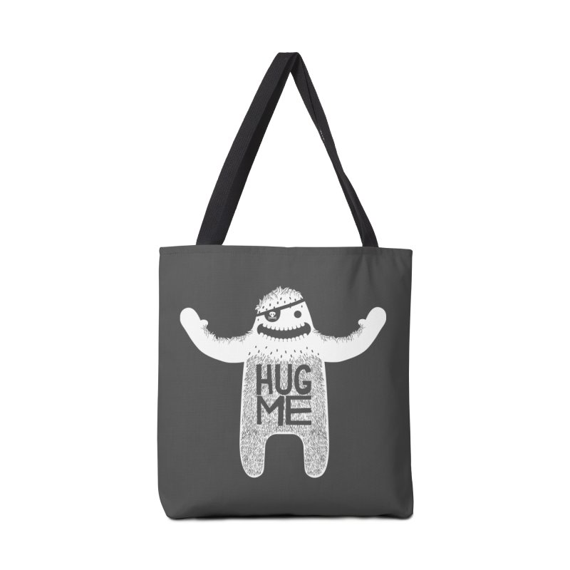 Hug Me Yeti Accessories Bag by The Illustration Booth Shop