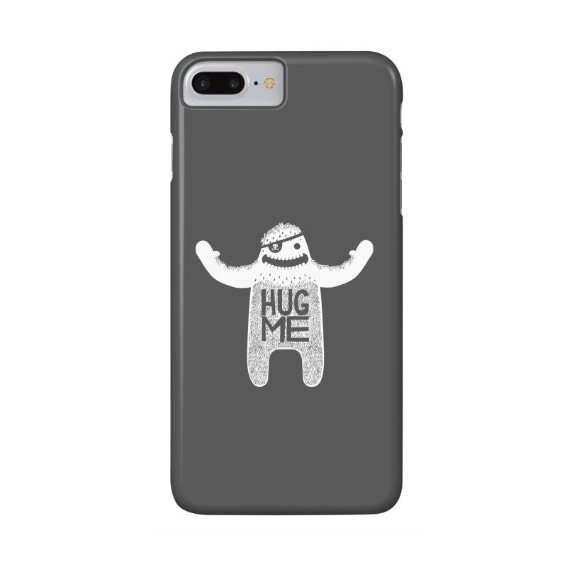 Hug Me Yeti Accessories Phone Case by The Illustration Booth Shop